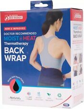 Carex Bed Buddy Back Wrap Microwave Moist Heat Pack Cool Therapy Pad - NEW!