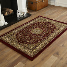 Sherborne Traditional Red Cream Medallion Classic Mats Small 60x120cm Rugs
