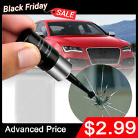 Cracked Glass Repair Kit Windshield DIY Car Window Phone Screen Repair Utensil