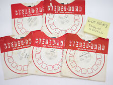 View-Master reels Lot #3 Misc England 5 Reels - RR
