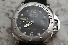 44MM MILITARE BY PARNIS AUTOMATIC SUBMERSIBLE MARINA HOMAGE WATCH