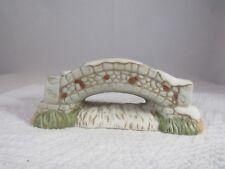 """Homco #5106 Ceramic Cobblestone Bridge 2"""" Tall - No Box"""
