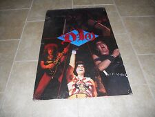 RARE Ronnie James Dio Band 1984 Large 24x36 Promo Live Concert Poster