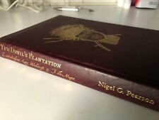 The Devil`s Plantation by Nigel G.Pearson Troy Books Limited Edition Occult