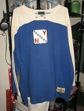 NEW YORK RANGERS Throwback Jersey 2XL Stall & Dean NHL HERITAGE vintage