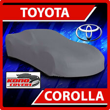 Fits Toyota Corolla 2014-2017 CAR COVER 100% Waterproof Breathable UV Protection