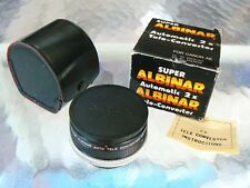 SUPER ALBINAR 2X TELE CONVERTER FOR CANON FD MOUNT *WITH CASE & IN BOX *MINT