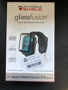 Zagg InvisibleShield Glass Screen Protector Apple Watch Series 4 & 5 44mm   Z08