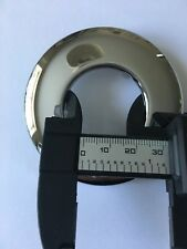 Chrome Brass PIPE WALL FLANGE COVER COLLAR ROSE 32mm Second Class Quality