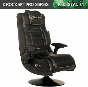 X-Rocker 51396 Pro Series Pedestal 2.1 Video Gaming Chair, Wireless