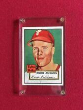 1952, Richie Ashburn (Topps) Philadelphia Phillies Baseball Card (Scarce)