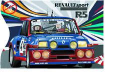 Protège étui carte bancaire bleue Renault 5 Turbo r5