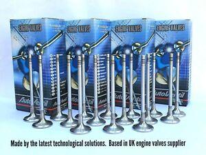 8 EXHAUST & 8 INLET VALVES FIT TO BMW 11347812616 MINI 11347812618 -1.4D / 1.6D