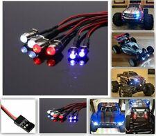 6 LED Light Set 2 White 2 Red 2 Blue For 1/10 1/8 RC Car Truck uBuggy