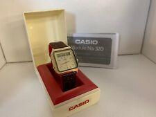 Casio AT-551G Janus II Touch Sensor Calculator Module 320 Quartz LCD LED Watch