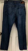 Tommy Hilfiger Men's Denim Blue Jeans Straight Leg 34 x 32