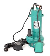 370W Fäkalienpumpe Schmutzwasserpumpe Tauchpumpe Abwasserpumpe Cutter 6600L / h