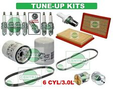 TUNE UP KITS for 95-99 I30 MAXIMA (3.0L): SPARK PLUGS, BELTS; AIR & OIL FILTER