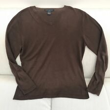 Banana Republic, Casual, Brown Knitted Jumper Top, Men's Size Small, BR