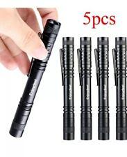 Enjoydeal 5 Pack LED Flashlight Torch,Portable XPE-R3 LED 500LM Super Light Clip