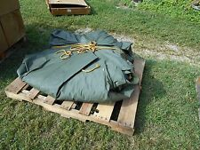 MILITARY TENT LINER GP MEDIUM ARMY SURPLUS 16X32 .... LINER ONLY....NOT A TENT