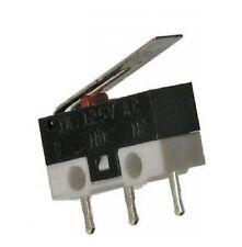 MICRO SWITCH 125V 2A A LEVA 3 pin deviatore pulsante levetta fine corsa pc