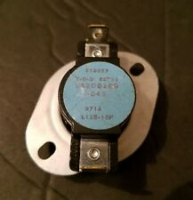 New GE Dryer Thermostat (125F-10F) 963D818G043. Free And Same Day Shipping