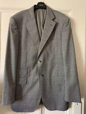 Jules Pal Zileri Sartoriale Summer Blazer Jacket 42R X-Large EU52 Pinstripe Suit