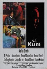 The Godfather (1972) Marlon Brando movie poster print