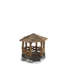 Dept 56 WOODLAND STONE GAZEBO 4025460 NEW D56 Christmas Village Accessory