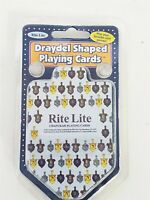 Draydel Shaped Playing Cards New Sealed 2011