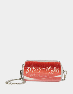 Betsey Johnson Kitsch Bubbly Betsey Red Cola Crossbody Bag BJ32042A SEALED