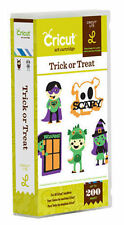 CRICUT *TRICK OR TREAT* HALLOWEEN ART CARTRIDGE *NEW* CHILDREN'S COSTUME PARTY