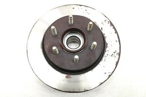 NEW Motorcraft Disc Brake Rotor & Hub Front BRRF-49 Ford F-150 2WD 2004-2008