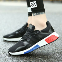 Men's Sneakers Casual Sports Athletic Breathable Running Shoes Board Mesh Shoes