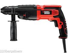 Black And Decker KD750KC Pneumatic Hammer Drill 220 240 Volt 50Hz 750W Powerful