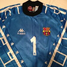 Barcelona Vitor Baia Vintage Goalkeeper Football Shirt 97-98 Kappa Size Small