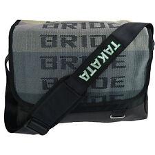 JDM BRIDE & BLACK Harness Satchel Business Laptop Shoulder Bag Drift Race Cars