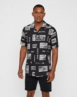 ONLY & SONS - Camicia Casual Uomo Mezza Manica Manica Corta Collo Cuba 2020