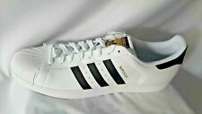 New Adidas Originals Superstar Men's Size 19 White Retro Sneakers Shell Toes