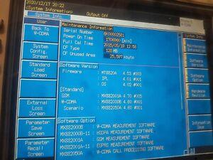 RF analysator Antritsu MT8820A