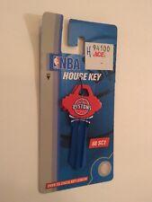 Nba Detroit Pistons Basketball Sc1 House Key Blank Schlage (C)