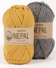 35% Alpaca, 65% Wool, Aran, Worsted Weight Yarn, 1.8 oz 82 Yards - Drops NEPAL