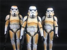 3x STAR WARS white Stormtrooper loose CUSTOM  KO