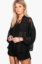 Maglie e camicie da donna Blusa nere taglia 42