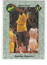 1991 CLASSIC BASKETBALL DRAFT PICKS STANLEY ROBERTS #15 - LSU