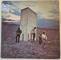 The Who – Who's Next, MCA, Vinyl, LP, Album, Reissue, Stereo (1980; 1971)