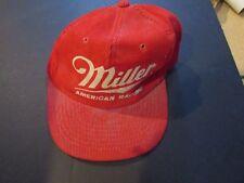Miller American Racing - Screen Printed Corduroy Baseball Cap