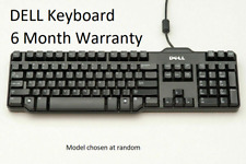 More details for 100% original dell wired usb keyboard for laptop pc computer desktop qwerty uk