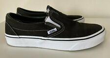 Vans slip-on canvas sneakers in black size EU 39 / UK 6 - worn once!